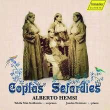 "Alberto Hemsi (1898-1975): Liederzyklus ""Coplas Sefardies"" (Gesamtaufnahme), 3 CDs"