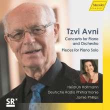 Tzvi Avni (geb. 1927): Klavierkonzert, CD