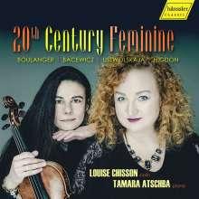 Louise Chisson & Tamara Atschba - 20th Century Feminine, CD