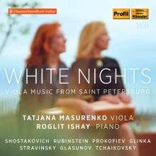 Tatjana Masurenko - White Nights (Werke für Viola aus Sankt Petersburg), 3 CDs