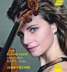 Eugene Ysaye (1858-1931): Sonaten für Violine solo op.27 Nr.1-6 (180g), 2 LPs