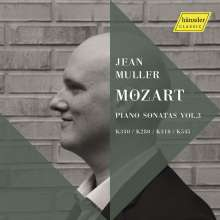 Wolfgang Amadeus Mozart (1756-1791): Klaviersonaten Nr.2,8,10,16, CD