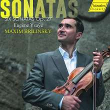 Eugene Ysaye (1858-1931): Sonaten für Violine solo op. 27 Nr. 1-6, CD