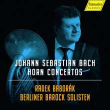 Johann Sebastian Bach (1685-1750): Hornkonzerte, CD