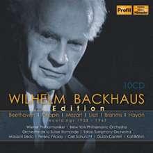 Wilhelm Backhaus Edition - Recordings 1908-1961, 10 CDs