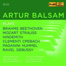 Artur Balsam plays, 10 CDs