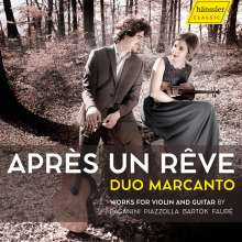 Musik für Violine & Gitarre - Apres un Reve, CD