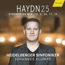 Joseph Haydn (1732-1809): Symphonien Nr.2,17-20, CD
