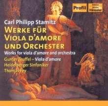 Carl Stamitz (1745-1801): Konzerte für Viola d'amore & Orchester Nr.1 & 2, CD