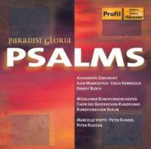 Erich Wolfgang Korngold (1897-1957): Passover Psalm op.30, CD