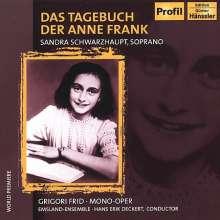 Grigori Frid (1915-2012): Das Tagebuch der Anne Frank (Fassung für Kammerensemble), CD