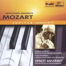 Ernest Ansermet & das Orchestre de la Suisse Romande, CD