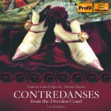 Les Berlinois - Contredanses vom Dresdner Hof, CD