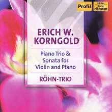 Erich Wolfgang Korngold (1897-1957): Klaviertrio op.1, CD