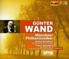 Günter Wand dirigiert die Münchner Philharmoniker Vol.1, 2 CDs