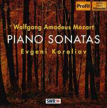 Wolfgang Amadeus Mozart (1756-1791): Klaviersonaten Nr.4,11,14, CD