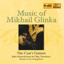 The Czar´s Guitars - Music of Mikhail Glinka, CD