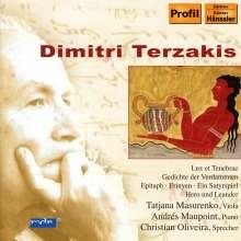 Dimitri Terzakis (geb. 1938): Hero und Leander für Sprecher,Viola & Klavier, CD