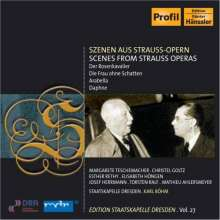 Richard Strauss (1864-1949): Szenen aus Opern, CD