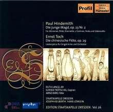 Paul Hindemith (1895-1963): Die junge Magd, CD