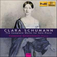 Clara Schumann (1819-1896): Sämtliche Klavierwerke, 4 CDs