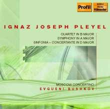 Ignaz Pleyel (1757-1831): Symphonie in A, CD
