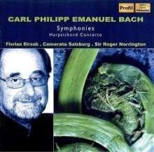 Carl Philipp Emanuel Bach (1714-1788): Symphonien Wq.173,179,182 Nr.1 & 6, CD