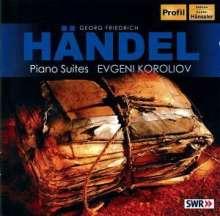 Georg Friedrich Händel (1685-1759): Cembalosuiten (1720) Nr.3,4,7,8, CD