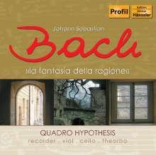 Johann Sebastian Bach (1685-1750): Flötensonaten BWV 529 & 1027/1039,1037, CD