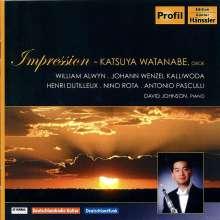 Katsuya Watanabe - Impression, CD
