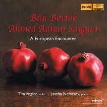 Ahmed Adnan Saygun (1907-1991): Sonate op.20 für Violine & Klavier, CD