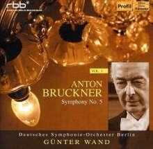 Günter Wand & das Deutsche Symphonie-Orchester Berlin Vol.1, CD