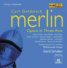 Karl Goldmark (1830-1915): Merlin, 2 CDs