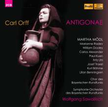 Carl Orff (1895-1982): Antigone, 2 CDs
