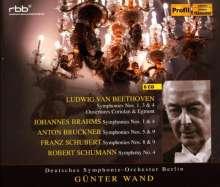 Günter Wand & das Deutsche Symphonie-Orchester Berlin, 8 CDs