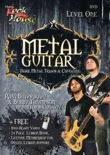 Metal Guitar with Ravi Bhadriraju & Bobby Thompson - Level One, DVD