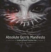 Absolute GRRRLS Manifesto (Chapter 1), 4 CDs