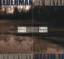 Lederman De Meyer: Eleven Grinding Songs (Limited-Edition), 2 CDs