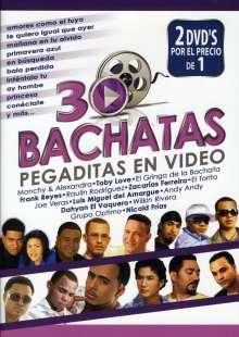30 Bachatas Pegaditos.., 2 DVDs