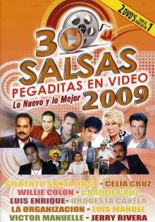 30 Salsas Pegaditas En Video:: 30 Salsas Pegaditas En Video:, DVD