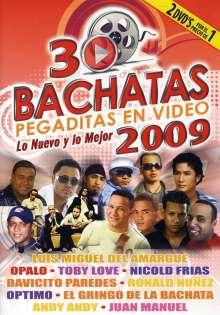 30 Bachatas Pegaditas En Vide: 30 Bachatas Pegaditas En Video, DVD