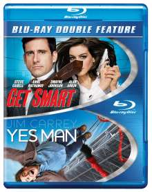 Get Smart  / Yes Man: Get Smart  / Yes Man, Blu-ray Disc