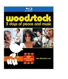 Woodstock: 40th Anniversary (The Director's Cut), 3 Blu-ray Discs