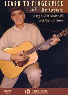 Learn to Fingerpick with Jim Kweskin, DVD