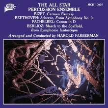 All Star Percussion Ensemble, CD