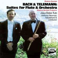 Johann Sebastian Bach (1685-1750): Orchestersuite Nr.2 für Flöte, Streicher & Bc (BWV 1067), CD