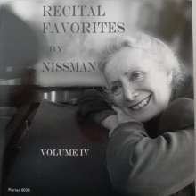 Barbara Nissman - Recital Favorites Vol.4, CD
