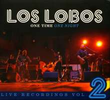 Los Lobos: One Time One Night: Live Recordings Vol.2, CD