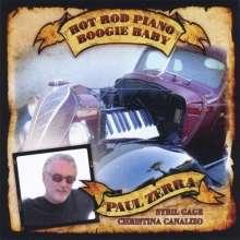 Paul Zerra: Hot Rod Piano Boogie Baby, CD