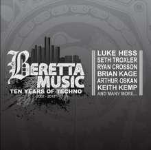 Beretta Music: 10 Years Of Techno, 2 CDs